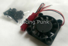 Black Heat Sink Motor Cooling Cooler Fan for RC Model Car Buggy 25mm x 25mm