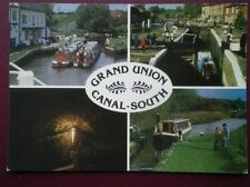 POSTCARD NORTHAMPTONSHIRE SOULBURY - STOKE BRUERNE - BLISWORTH TUNNEL - GRAND UN