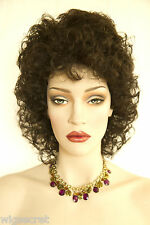 Short Curly Shag Style Blonde Brunette Red Wigs Available in 16 Colors