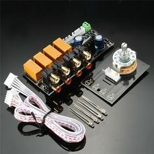 Audio Input signal Selector Relay Board Signal switching amplifier board DIY