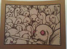 JERMAINE ROGERS'FAMILY'MINI Art Print (COPPER EDITION) MINT,SIGNED,