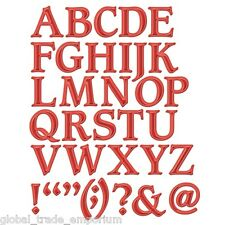 NEW Spellbinders FONT ONE S6-009 Uppercase Alphabet - 32 Dies Cut Emboss Stencil