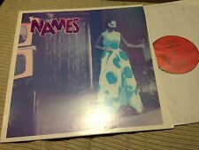 "NAMES - SPECTATORS OF LIFE 12"" MAXI FRANCE CELLULLOID - SYNTH WAVE"