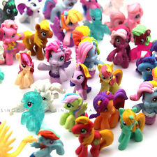 Random Lot 10pcs MLP MY LITTLE PONY Friendship is magic G1 Girls Figure Toy Gift
