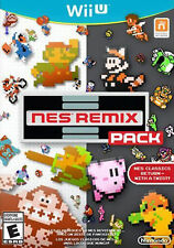 NES Remix Pack Wii U game Nintendo 2014Classic Edition Entertainment System