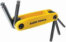 Klein Tools 70571 Grip-It Ball Hex-Key Sets with 5-Inch Sizes, Yellow
