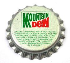 Vintage Mountain Dew Kronkorken USA Soda Bottle Cap Cincinnati