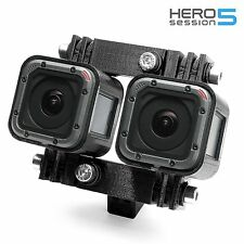 Variable 3D Connector + Tripod Mount f. GoPro HERO 5 Session Stereoscopic