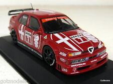Minichamps 1/43 Scale 430 930120 Alfa Romeo 155 V6 Ti DTM 93 - A Nannini