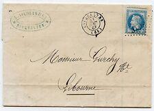 LETTRE ANCIENNE / FACTURE / RIVESALTES POUR LIBOURNE 1867