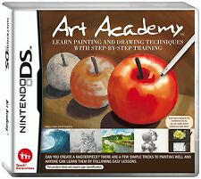 Art Academy [Nintendo DS DSi, Video Game, Draw Paint Sketch] Brand NEW
