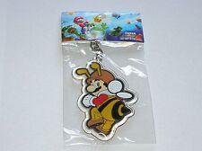 """Super Mario Bros Enamel 2.5"""" Bumblebee Mario  keyring"""