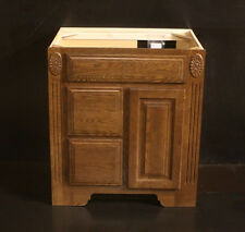 Kraftmaid Cognac Oak  Bathroom Vanity Base Cabinet . Ask 4 Granite Tops In Stock