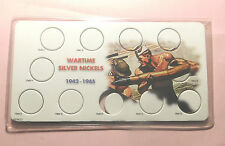 """1942-1945 Jefferson Holder """"W/Plastic Case"""" Coin's not included"""