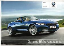 BMW Z4 Accessories 2009-10 UK Market Sales Brochure
