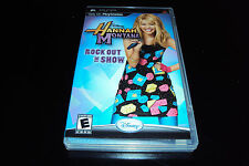 Hannah Montana: Rock Out the Show (PSP) Complete  - Great Condition