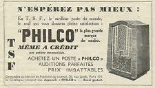 W6197 Radio PHILCO - Pubblicità 1934 - Advertising