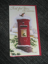 Xmas Money wallet, greeting card holder for cash / vouchers, Christmas £ gift