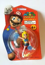 Super Mario Keychain Collection - CHEERLEADER FIGURE /BLUE & BLACK OUTFIT
