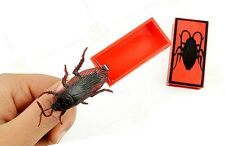P001 Close-Up Magic Funny Street Trick Terror Cockroach Paddle Illusion Mischief