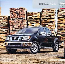 2010 Nissan Frontier Truck 28-page Original Car Sales Brochure Catalog
