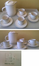 Vintage Italian design Laveno SCR Coffee set 1960s Antonia Campi period