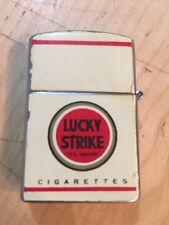 Accendino Vintage Continental , Promozionale Lucky Strike Anni 60 Originale