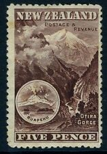 NEW ZEALAND-1898  5d Purple-Brown Sg 253a  MOUNTED MINT V11522