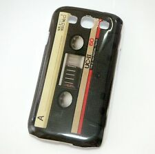 Black Tape Cassette Design Hard Cover Case Skin for Samsung Galaxy S3 i9300