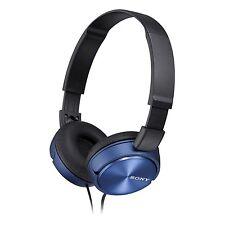 Sony MDRZX310 Cuffie Pieghevole-Blu metallico-NUOVO
