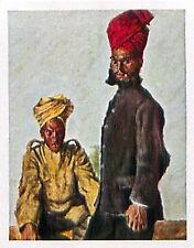 Sikh & Brahman British Army India Inde Deutsches Heer WWI WELTKRIEG 14/18 CHROMO