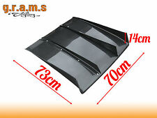 UNIVERSAL CARBON FIBER 70cm Varis Style Diffuser / Undertray