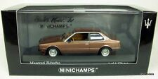 MINICHAMPS 1/43 - 400 123500 MASERATI BITURBO 1982 MODEL CAR IN COPPER