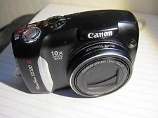 Canon PowerShot SX120 IS 10.0 MP Digital Camera - Black