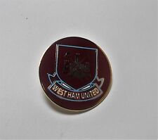 WEST HAM UNITED FC - EXTRA LARGE CREST  BADGE CLARET (32mm)