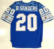 BARRY SANDERS ORIGINAL AUTHENTIC WILSON NFL PRO LINE DETROIT LIONS JERSEY 48