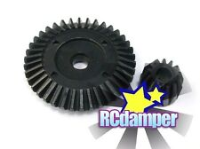 HARD STEEL DIFF BEVEL RING GEAR 2PC AXIAL 1/10 WRAITH / EXO DIFFERENTIAL AX30392