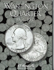 H.E. Harris Washington Quarter 1965 - 1987 Coin Folder, Album Book #2690 ~NEW~