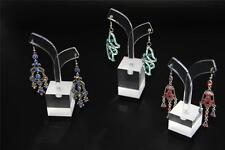 6pcs Earring Stand Display Holder Acrylic JEWELLERY SHOWCASE Countertop 2 Sets