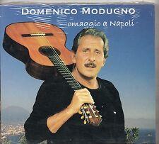 DOMENICO MODUGNO CD OMAGGIO A NAPOLI stampa ITALIANA 2004 nuovo SIGILLATO