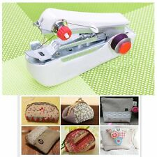 Home & Travel Mini Portable Hand-Held Clothes Curtain Sewing Machine Repair