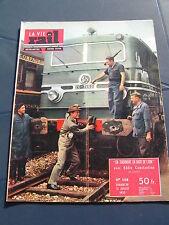 vie du rail 1955 508 eddie constantine ZON EXPRESS ARRAS LILLE GEVREY SAULON