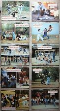 """10 HK Lobby card DEATH DUEL OF MANTIS Movie Poster 10x14"""" Kung Fu Film 1978"""