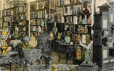 1907-1915 Postcard; Sing Fat Co Interior Los Angeles CA Art Goods Section Posted