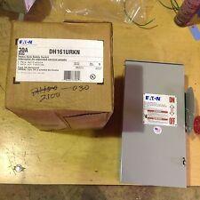 EATON DH161URKN 30 AMP 600 VOLT DC 1 POLE NEMA 3R DISCONNECT NON FUSIBLE