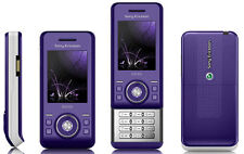 Sony Ericsson S500i Ice purple Unlocked QUANDBAND,2MP CAMERA,BLUETOOTH CELLPHONE