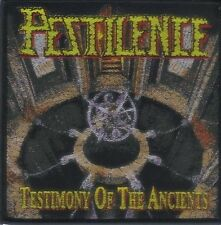 PESTILENCE - Aufnäher Patch - Testimony of the ancients 10x10cm