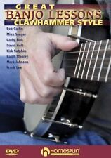 Great Banjo Lessons Clawhammer Style Learn to Play EASY Beginner Music TUTOR DVD
