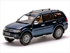 MITSUBISHI PAJERO SPORT DARK BLUE MICA 1/43 MODEL CAR BY VITESSE 29261