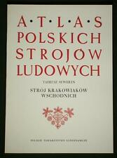 BOOK ATLAS OF POLISH FOLK COSTUME Krakow ethnic dress POLAND dance national art